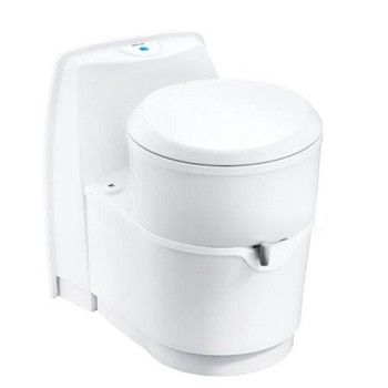 Thetford C223 White Cassette Marine/RV Toilet With Electric Flush