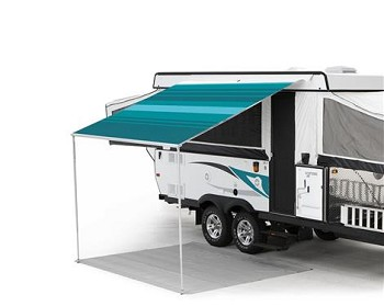 Carefree Campout Awning 2.5M Teal, 8'-5""