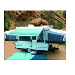 Carefree Campout Awning 3.0M Oc Blue, 9'-10