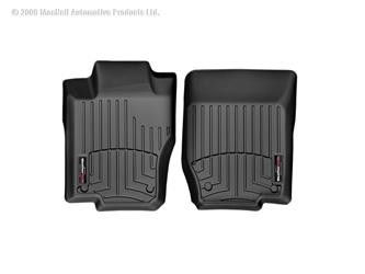 WeatherTech FloorLiner Black for Chevrolet Silverado/GMC Sierra Double Cab 2014+