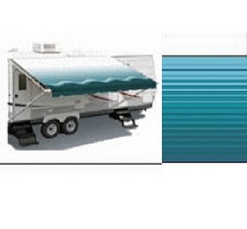 Carefree RV Awning Replacement Fabric Teal 20'