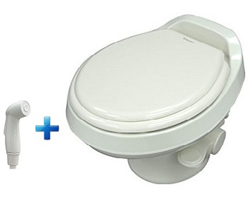 Prime Dometic 300 Lightweight Low Profile With Hand Spray Rv Toilet White Ocoug Best Dining Table And Chair Ideas Images Ocougorg