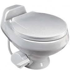 Dometic Sealand Traveler 511H Low Profile RV Toilet White