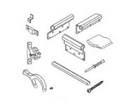 A&E Deluxe RV Slide Out Awning White Mounting Brackets