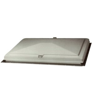 "Camper Replacement Vent Lid, Elixir, 22"" x 22"", White"