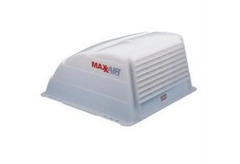"MaxxAir RV Roof Vent Cover, 14""x14"",  Translucent White"