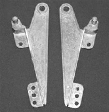 Window Hinge; 3-7/8 Inch Length; Carded; Set Of 2