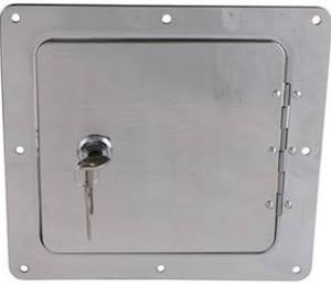 Spare Tank Door Chrome