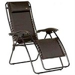 Faulkner Recliner Chair Padded Black XL