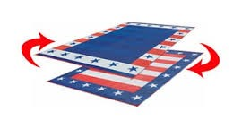 "Independence Day Design Camping Mat 68""L x 36""W"