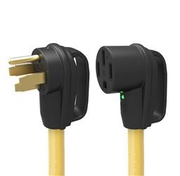 Power Cord Adapter 50 Amp Black