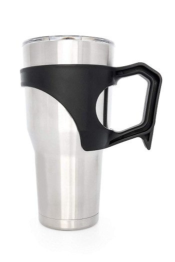 Black Tumbler Handle, 30oz