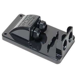 Cable Entry Plate For Mc4 Solar Cables Black
