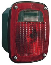 #445 Universal Three-Stud Combo Rear Light