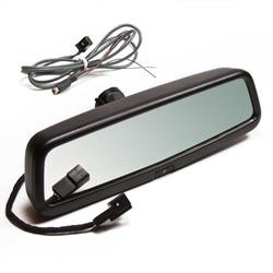 BrandMotion Interior Rear View Mirror With Integrated 3.5 Inch Width TFT LCD Mirror Monitor