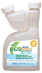 Eco-Smart Free & Clear RV Holding Tank Deodorant 64 oz Bottle