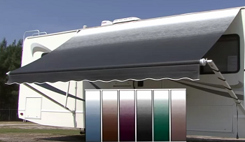 A&E 8500 22' Awning with Vinyl Weathershield