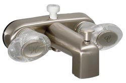 "Tub & Shower Diverter, 4"", Biscuit Color"