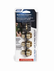 Quick Hose Connect Brass Value Pack