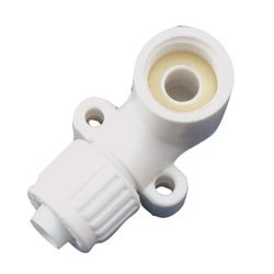 "1/2"" Flare x 1/2"" FPT Drop Ear Elbow Adapter"