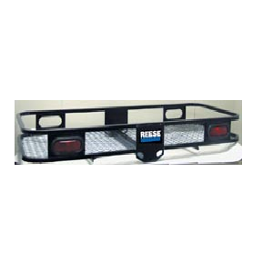 Metal Cargo Carrier w\Bolted Side Rails