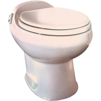 Thetford Aria II Deluxe High Profile Rv Toilet Bone