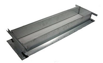 "Rv Refrigerator Roof Vent 5"" x 24"" Base"