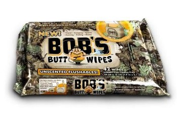 Bob's Butt Wipes Flushable