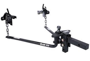 Blue Ox Weight Distribution Hitch 1200 Pound Gross Tongue Weight