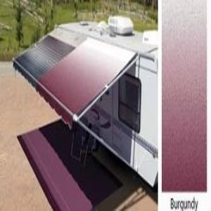 Carefree Rv Awning  Replacement Fabric 21 ft Burgundy Fade