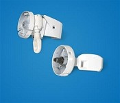 Awning Cap & Arm Brace For Pioneer Awnings White