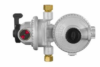 Compact Low Pressure Two-Stage Automatic Changeover Regulator