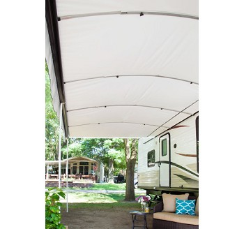 Lippert LCI Destination Big Carport Size Shade and Shelter RV Awning