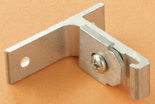 I-Beam RV Curtain Track Wall Brackets