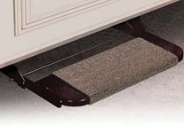 Camper Step Rug, Wraparound, Brown, 18