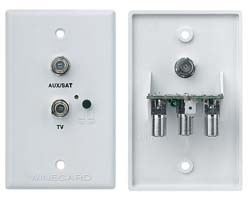 TV\Satellite Jack Receptacle