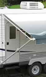 "Spirit\Fiesta Awning Long Hdw. Satin Black Castings 81""- 96"""