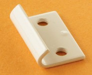 Camper Door Catch White Manufacturer's Number: E318