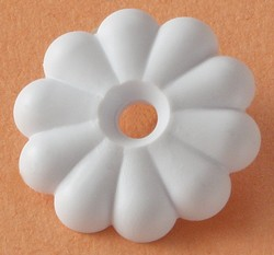 RV Rosette Washers White