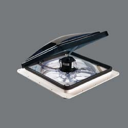Rv Roof Vent Fan With Thermostat And Dome Sensor Fan