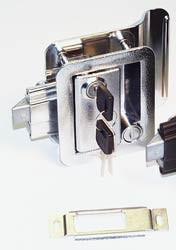 Wesco Camper Lock Chrome