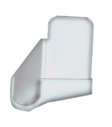 RV Gutter Spout Polar White