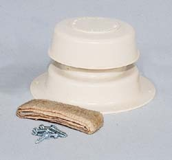 RV Plumbing Vent Kit,Camco, Colonial White