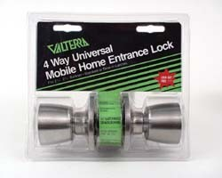 Mobile Home RV 4-Way Universal Entrance Lock