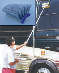 All-A-Rounder Flow-Thru Telescopic Brush48 inch - 96 inch