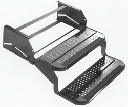 "Rv Step - Manual- Double, 20"" W and 12"" Drop"