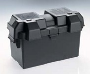 Snap-Top Battery Box Large Black