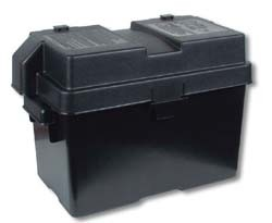 Snap-Top Battery Box Medium Black