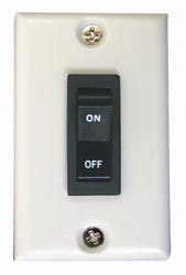 Rocker Wall Switch White