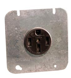 Receptacle and Plate